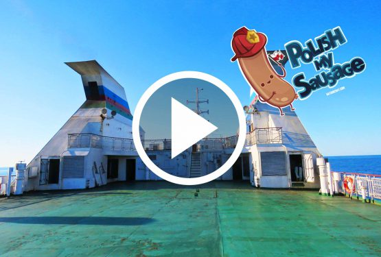 Mess on Caspian Sea ferry Kazakhstan – Azerbaijan | Mongol Rally 2017 | Polish My Sausage