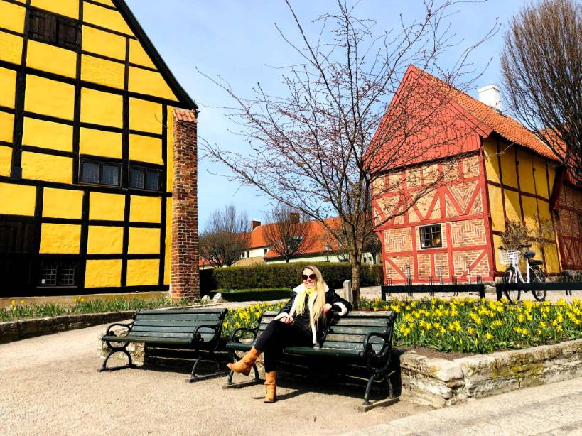Budynki w Ystad