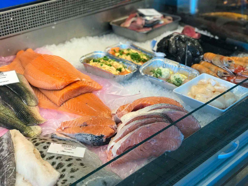 ryby w sklepie