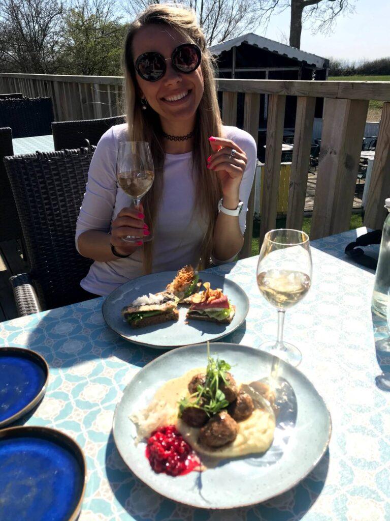 Obiad na wyspie Ven