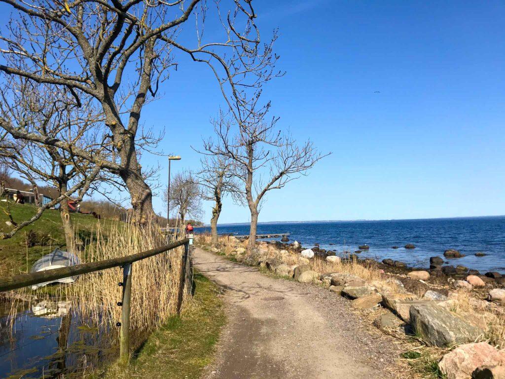 ścieżka rowerowa na wyspie Ven