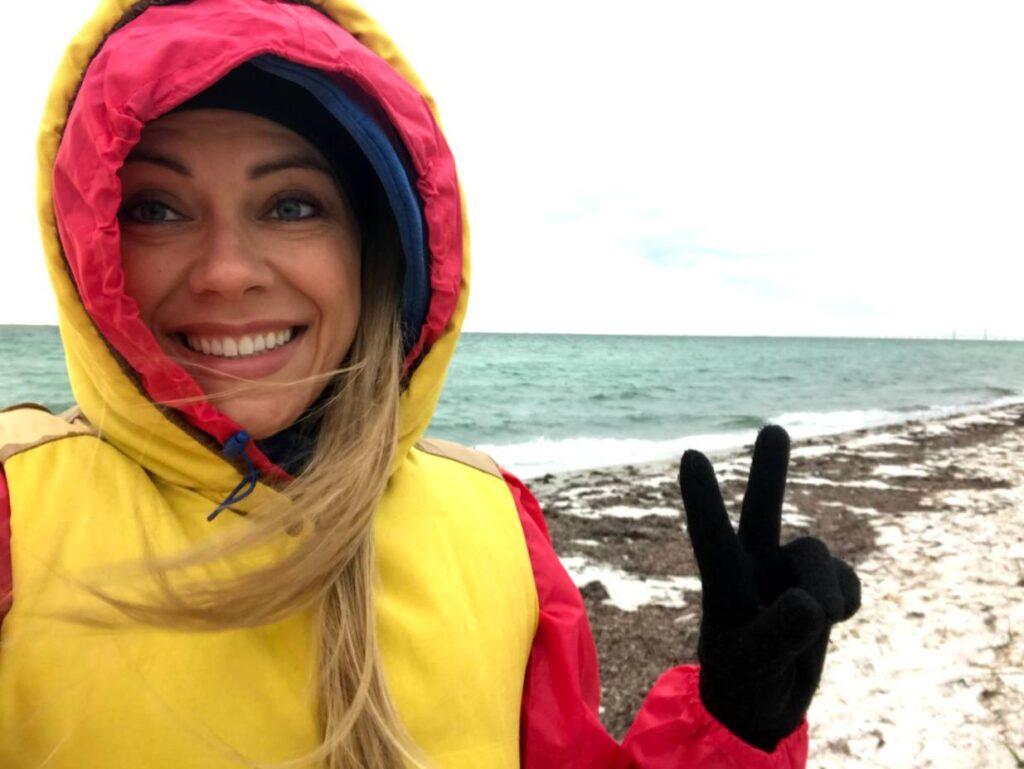 Zimna pogoda w Szwecji