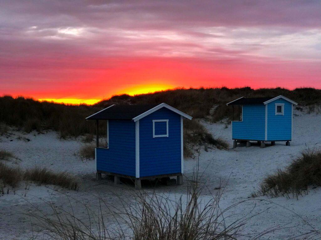 Zachód słońca, Falsterbo